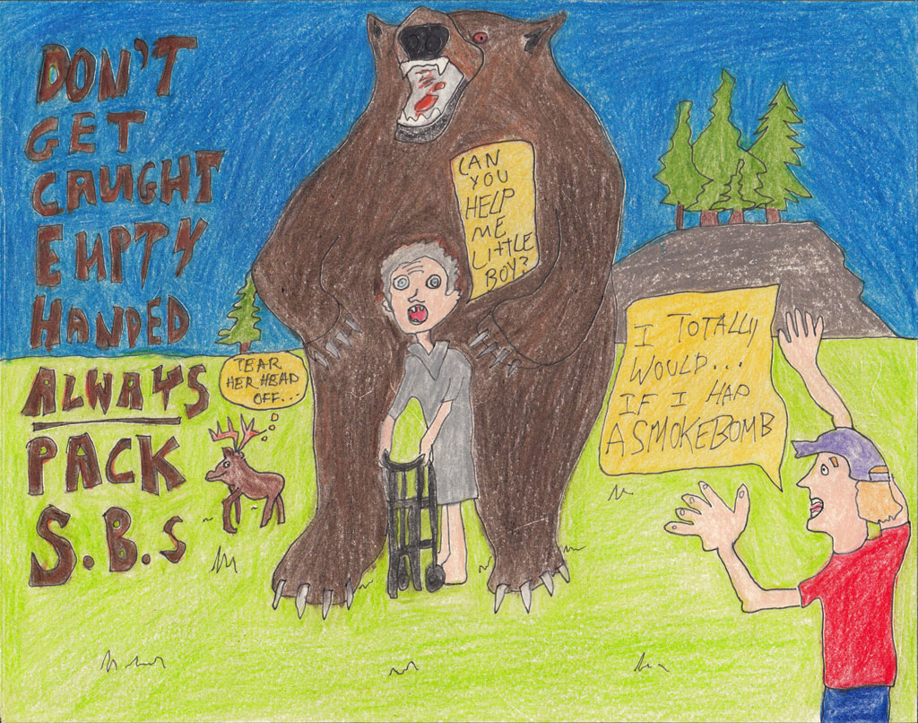 P3_01_Old_Lady_Getting_Mauled_By_Grizzly