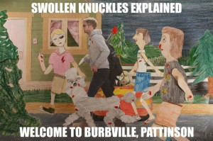 7: Robert Pattinson Visits Burbville